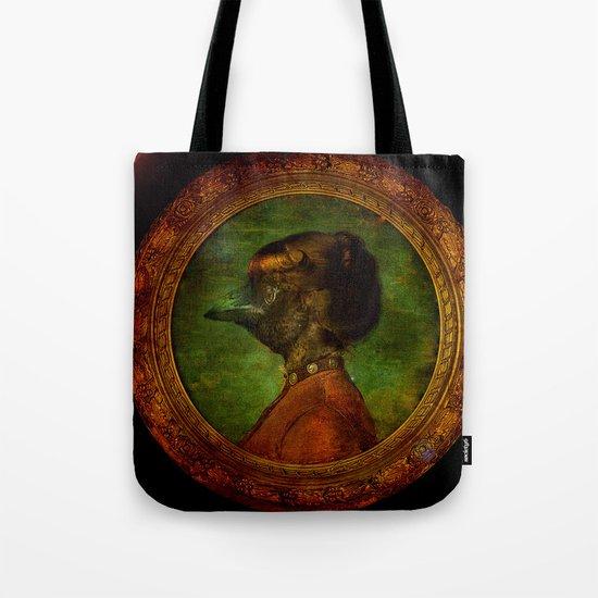 Miss Crow Tote Bag