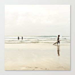 Sintra beach Canvas Print