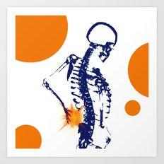 The Pain Art Print