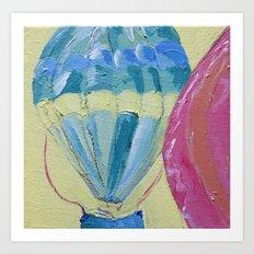 Sweet Skies - Panel 1 Art Print
