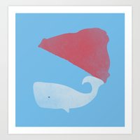 steve zissou Art Prints featuring Steve Zissou by Keejus
