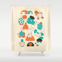 Turtles Shower Curtain