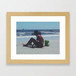 Island Girl Framed Art Print