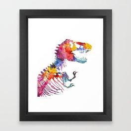 Funkosaurus Rex Framed Art Print