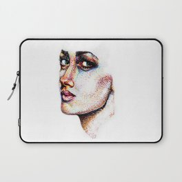 Portrait Pointed Out Laptop Sleeve