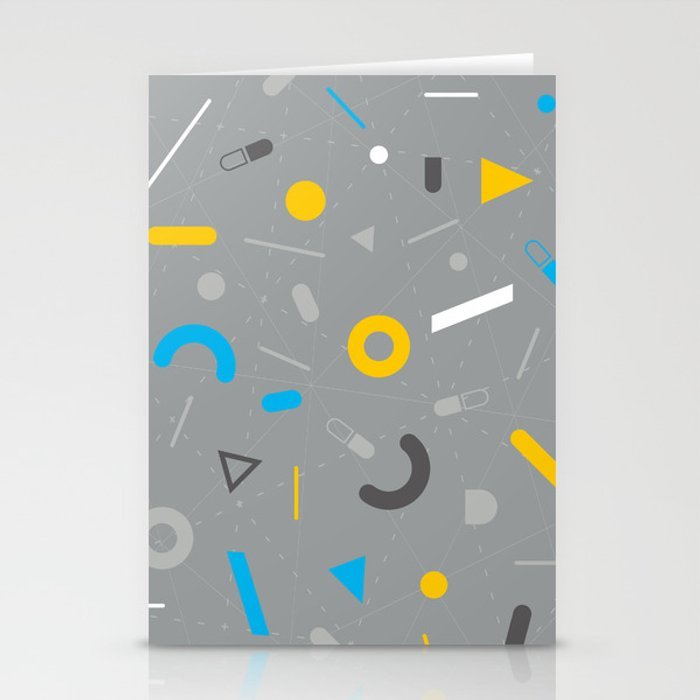 Almost Friday - pattern grey Stationery Cards