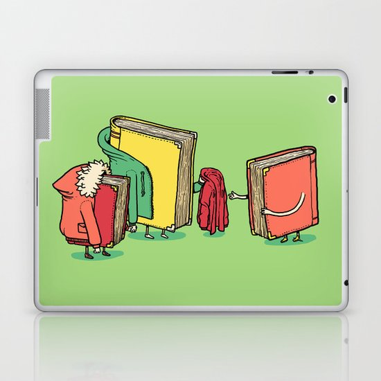 Book Jackets Laptop & iPad Skin