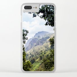 Sri Lanka High Country Clear iPhone Case