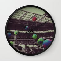coldplay Wall Clocks featuring Coldplay at Wembley by Efua Boakye