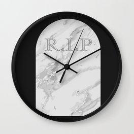 Gravestone Wall Clock