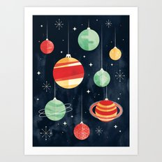 Joy to the Universe Art Print