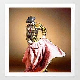 Torero (bullfighter Spanish) Art Print