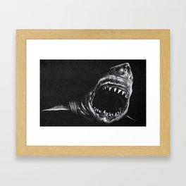 Man-Eater Framed Art Print
