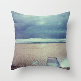 Tura Beach Throw Pillow
