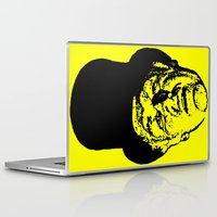 literature Laptop & iPad Skins featuring Outlaws of Literature (Ken Kesey) by Silvio Ledbetter