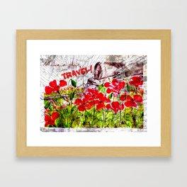 Make a plan Framed Art Print
