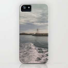 Boat trip in Howth, Ireland iPhone Case