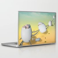 whimsical Laptop & iPad Skins featuring whimsical by mark ashkenazi