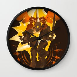 Melodies of IX Wall Clock