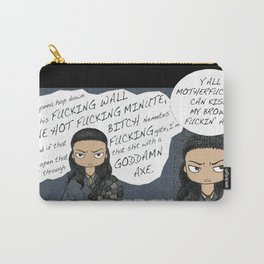 Grumpy Nasir (Nagron, Spartacus) Carry-All Pouch