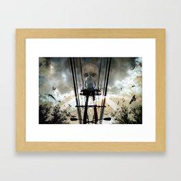 Face the Day Framed Art Print