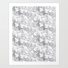 Love Bunnies Art Print
