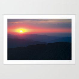 14,278′ - Grays Peak Art Print