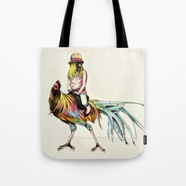 The Artsy Rooster Tote Bag