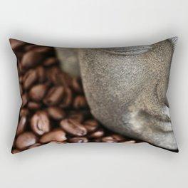 Coffee Buddha 4 Rectangular Pillow