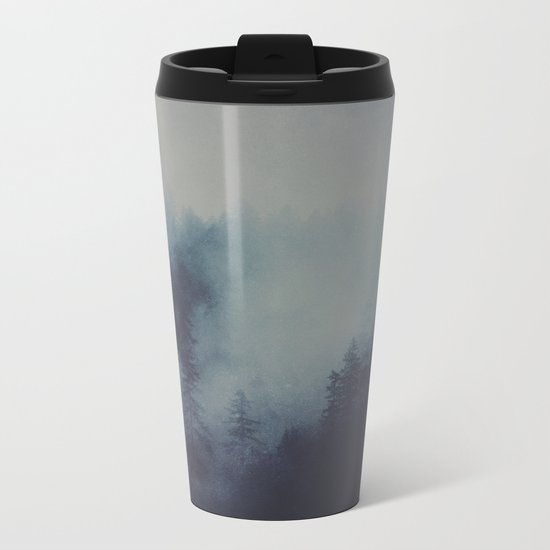 No light without darkness Metal Travel Mug