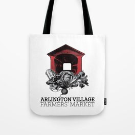 Arlington Village Farmers Market Tote Bag
