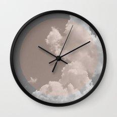 Misty Cloud Wall Clock