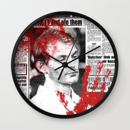 Jeffrey Dahmer Wall Clock