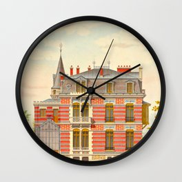 Brick constructions; ordinary brick from a decorative point of view - J. Lacroux and C. Détain - 187 Wall Clock