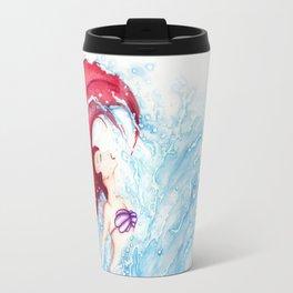 Ariel Becomes Human Travel Mug