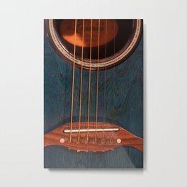 Acoustic Study Metal Print