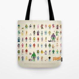 Pixel Nostalgia Tote Bag