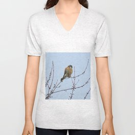 Sparrowhawk (Kestrel) 7 Unisex V-Neck