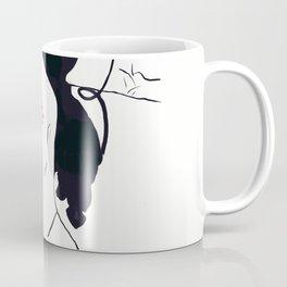 Barley dressed female body builder Coffee Mug
