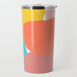 Abstract pastel collors Travel Mug