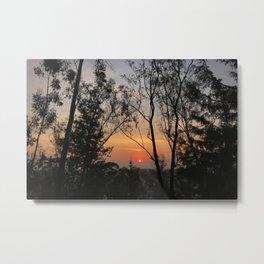 When the sun rises Metal Print