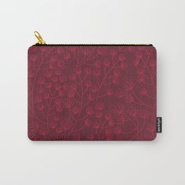 Soft & Fuzzy (Red) Carry-All Pouch