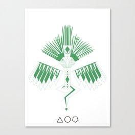 Quetzalcoalt Canvas Print