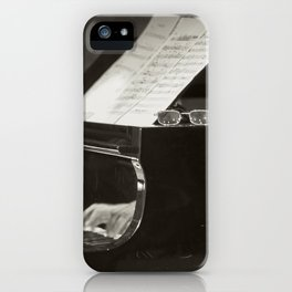 Grand Piano and Music Notes iPhone Case