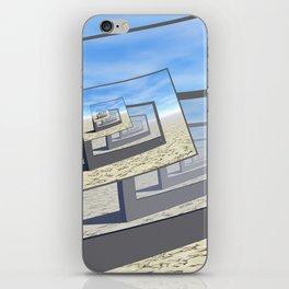 Surreal Monitors Infinite Loop iPhone Skin