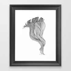 Too One Framed Art Print