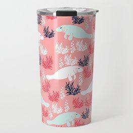 Cute Manatee Travel Mug