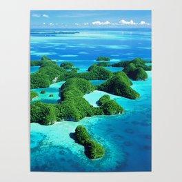 Palau Island Paradise Poster