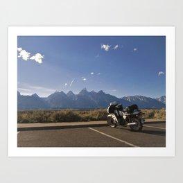 Mountain Riding Art Print