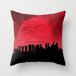Singapore Throw Pillow